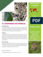 O Leopardo Joao Miguel
