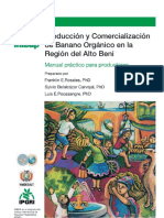 Producción y Comercialización de Banano Orgánico en La Región Del Alto Beni Manual Práctico Para Productores 1098