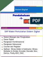 Sistem Digital - 1