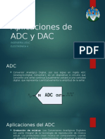 Aplicaciones de ADC y DAC