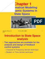 Chapter 1 Mathematical Modeling of Dynamic Systems in State Space