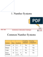 Lecture 4 Number System