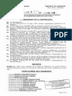 Decret N 2018 312 Du 22.05.2018 Nom Assesseurs Militaires