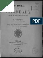 Jullian (Camille).Histoire de Bordeaux