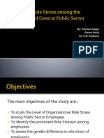 A Study of Role Stress Among the Employees.ppt