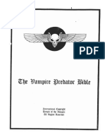 The Vampire Predator Bible