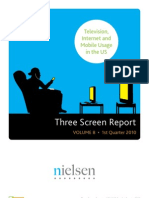 Nielsen Three Screen Report Q12010
