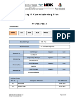 Test Commissioning Plan Rev 1 Al Ri