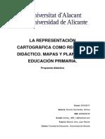 La Representacion Cartografica Como Recurso Didac AMOROS HERNANDEZ AINHOA