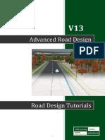 Advanced Road Design v13 Tutorials