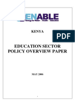 D 1 7 Kenya Education Policy Overview