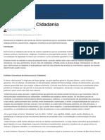 Democracia e Cidadania - Jus.com