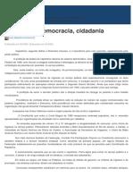 Nepotismo, Democracia, Cidadania - Jus.com