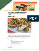 Muffin Proteico e Funcional de Quinoa Com Frango _ BOA FORMA