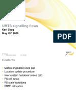 UMTS Signalling Flow