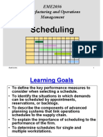 210942 Scheduling Lecture Note