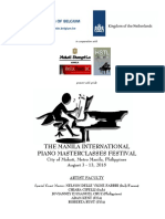Manila International Piano Festival 2018 Syllabus Updated