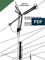 137270326 M 3425A Libro de Instrucciones de Proteccion Del Generador