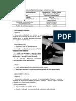 Mobilização Da Articulação Patelofemural