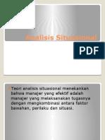 Analisis Situasionl
