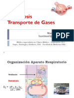 Hematosis y Transporte de Gases - Martín Hunter 2017.pps