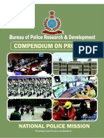 National Police Mission Compendium on Projects 201712080240342853712 - BPRD India