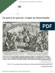 Da Guerra Às Guerras_ a Lógica Da Disseminação – Felipe Ziotti Narita