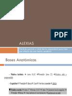 Alexia, Agrafia y Acalculia