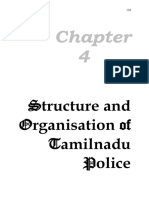 Tamil Nadu Police Structure and Organisation