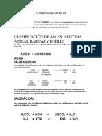 Clasificación de Sales