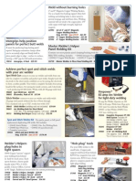 Master Welders 6-Piece Holding Panel Kit
