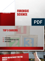 forensic science honors work 1