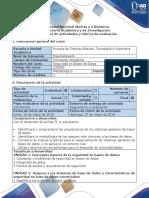 Guía de Actividades y Rúbrica de Evaluación - Fase 5 - Presentar Un Informe Final Del Proceso Realizado