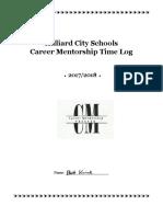 mentorship time log sem 1 2017 2018