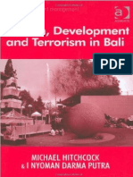 Tourism, Development and Terrorism in Bali