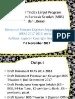 Informasi Bos 2017