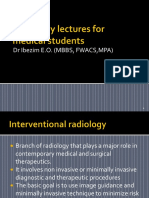 Radiology Lectures for Medical Students %28interventional%29