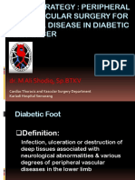 A New Strategy  Peripheral  Endovascular Surgery for Arterial Disease in Diabetic Foot Ulcer - dr. M. Ali Shodiq, SpBTKV.ppt