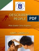 3. Describing People
