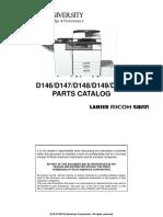 Parts Catalog MPC3003 MPC3503