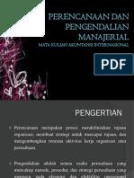 Ppt Materi Akuntansi Internasional Bab Perencanaan Dan Pengendalian Manajerial