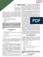 Rectifican númeración de la Ordenanza N° 057-MDCH por la de Ordenanza N° 065-MDCH