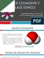 Enlace Covalente y Ionico