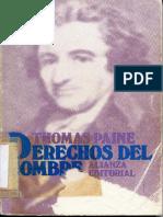 Paine, Thomas - Los Derechos Del Hombre.pdf