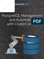 Postgresql Management and Automation With Clustercontrol