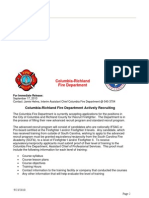 Columbia Fire Department is Recruiting