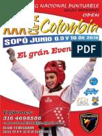Reglamento Copa Colombia 2018 q2 y Open