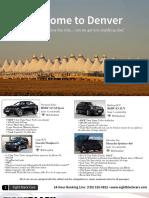 Eight Black Cars Brochure