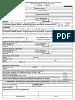 Formulario de Postulacion Individual Fsev