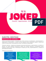 M & JOKER Brochure - Productora de eventos
